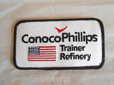 Vintage Conoco Phillips Oil Refining Trainer Refinery Patch