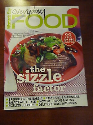 WOMANS DAY Everyday Food THE SIZZLE FACTOR EUC