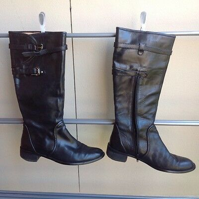 Tilly Rose Knee High Leather Boots Size 39