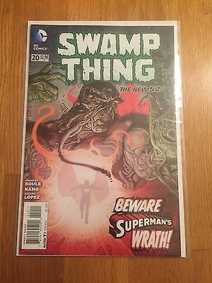 Swamp Thing: The New 52 (Dc Comics) #20