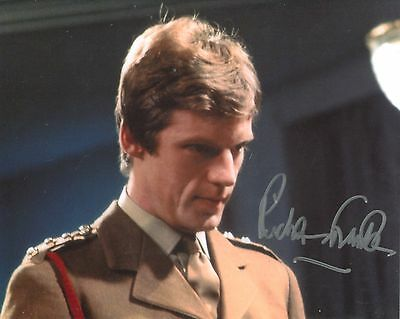 Actor Richard Franklin signed 8x10 DOCTOR WHO photo
