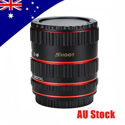New Auto Focus Macro Extension Tube Adapter Ring Sets for Canon DSLR EF EOS EF-S