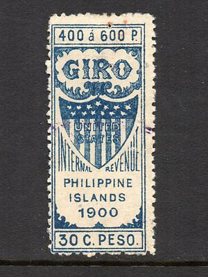 Philippines #  W449  Giro 30c Revenue - Only 10,000 issued