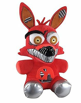 "6"" New Plush Doll NEW FNAF Five Nights at Freddys Series 2 Nightmare Foxy  2017"