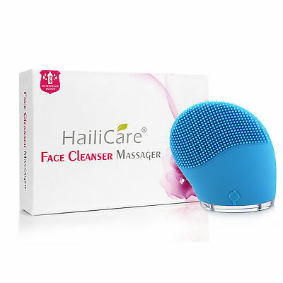 Facial Cleanser Beauty Device, USB-Charged, Waterproof