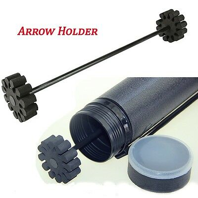 Archery Stainless Steel Support 12 Arrows Holder Separator Quiver Insert Foam