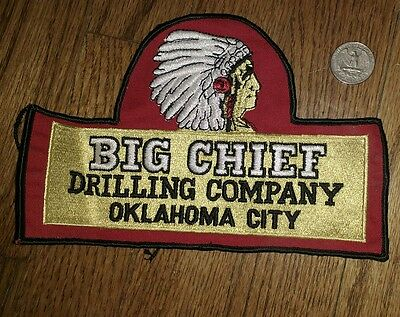 Vintage Big Chief Drilling Co Patch