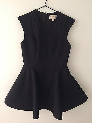KEEPSAKE THE LABEL Mini Black Dress, Size M