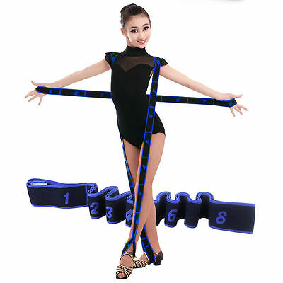 Gymnastics Fitness Ballet Stretch Band Dance Cheer Flexibility and Stretching