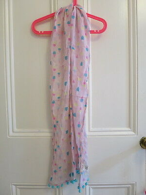 Seed Girls Pom Pom Icecream Scarf Preloved, excellent condition Paid $49.95