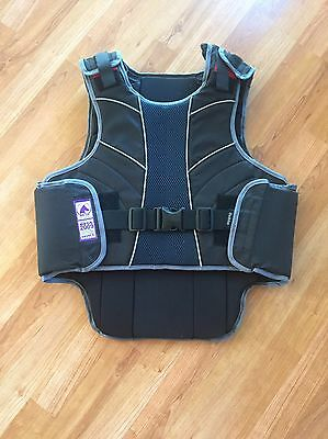 Dublin Equestrian Safety Vest Horse Riding Eventing Back Protector Adult Medium