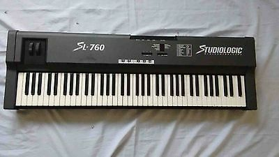 Studiologic  Midi Controllers Sl-760, Made In Italy
