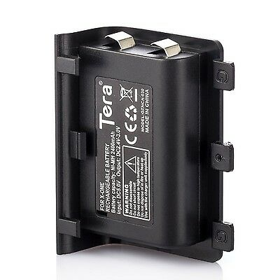 Tera 2400mAh Rechargeable Replacement Battery Pack for XBOX ONE Controller wi...