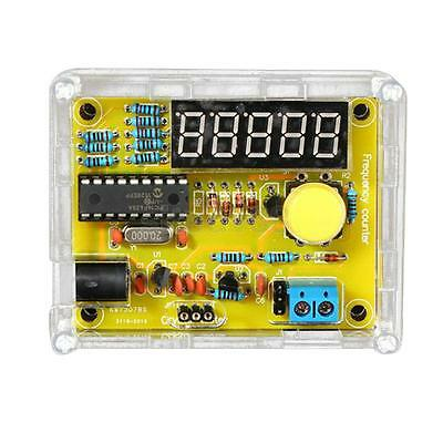 1Hz~50MHz Electrical Crystal Frequency Meter Tester Measurement LED DIY Kit