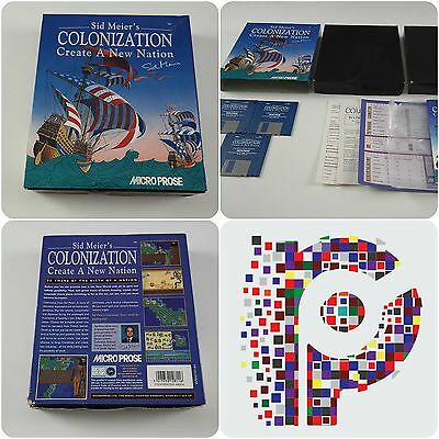 Colonization A Microprose Game for the Commodore Amiga tested & working