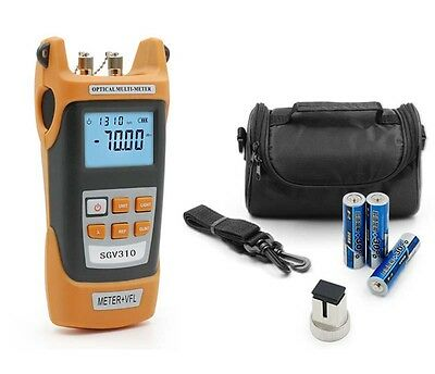 New All-in-One Optical Power Fiber Meter & 15mW Visual Fault Locator