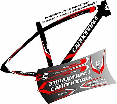 CANNONDALE ADESIVI stickers aufkleber autocollant WELCOME international buyers