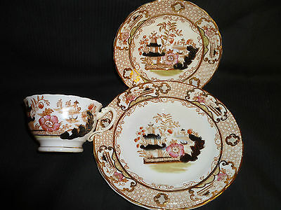 Stanley China, cup and saucer set (Oriental pattern c1900)