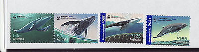 Australia 2006 MNH - Whales - WWF - set of 4 stamps