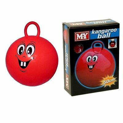50cm Kangaroo Space Hopper Ball Jump Bounce Outdoor Fun Play Toy Adult Kid Game