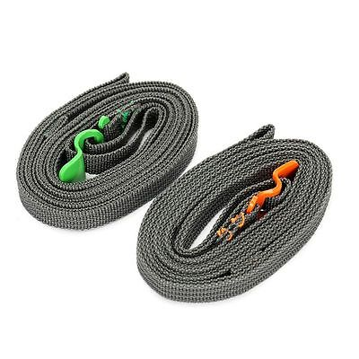 Strapping Cord Tape Outdoor Travel Rescue Rope Tied Pull Luggage Stainless Hook