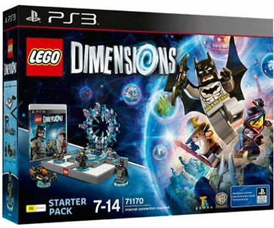 Lego Dimensions PS3 - Starter Pack (BRAND NEW-UNOPENED)
