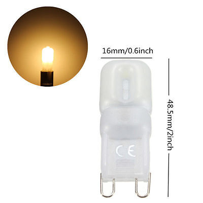 4x G9 3W Led Dimmable Capsule Light Bulb 14 SMD Warm White Replace Halogen 220v