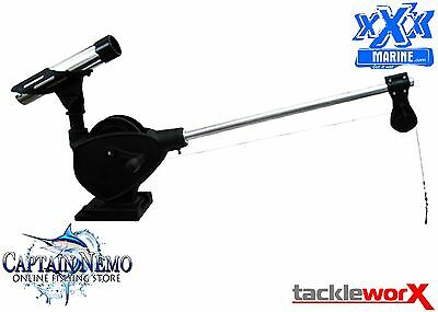 Xxx Marine Tournament Series Large Manual Downrigger Fishing Game Boat Rhplmdr