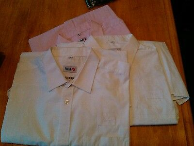 First Group train drivers Railway shirts size 17