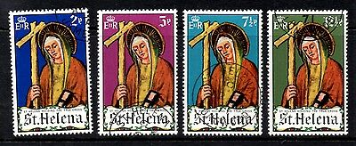 (Ref-9386) St.Helena 1971  Easter  SG.275/278  Used Set of 4