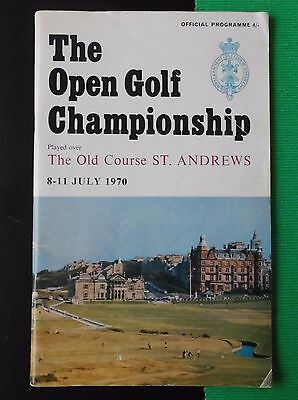Official Programme - The Open Golf Championship 1970