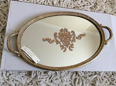 ZARA HOME Oval Mirrored Decorative Serving Trays Kitchenware Dining Tableware