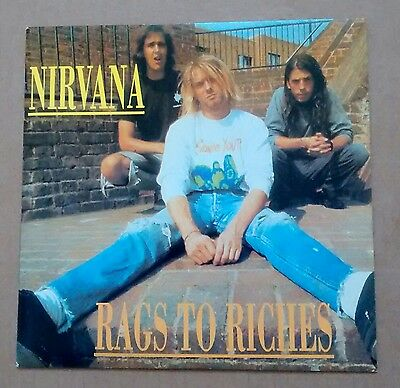 """Nirvana Rags To Riches 7"""" Single"""