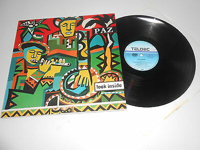 PAZ - Look Inside, World JAZZ AFRO ARCHIVCOPY and looks unplayed, like NEW     I