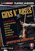 Classic Albums Guns N Roses Lick Library DVD