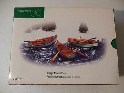 Department 56 Wooden Rowboats #56.52797