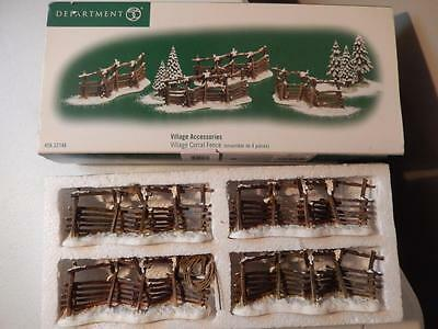 Department 56 Village Corral Fence #56.52746