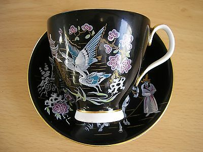 Royal Albert Porcelain Oriental Pattern Cup And Saucer