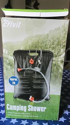 Crivit camping shower aprox 20L