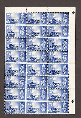 1948 Channel Islands George Vi Stamps Sheet Of 24 Mnh