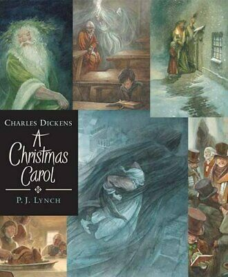 A Christmas Carol (Walker Illustrated Classics) By Charles Dickens, P.J. Lynch