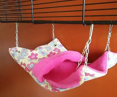 snuggle pouch hammock for rats, chipmunks or degu's
