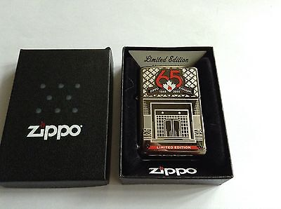 Zippo Canada 65th Anniversary 2014 Bottom Stamp Collectable MIB