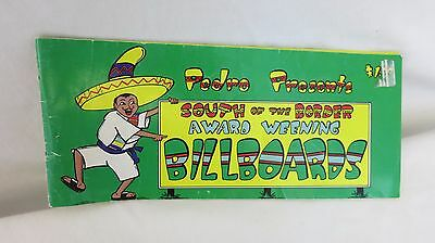 South Of The Border souvenir bilboard book
