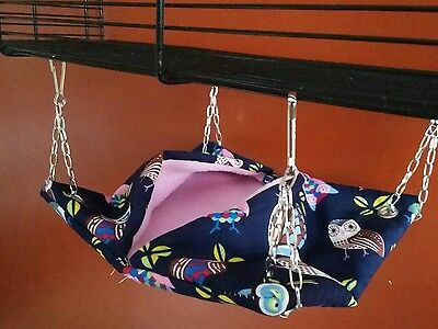 small nester hammock for hamsters, mice, dwarf hamsters or gerbils
