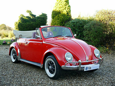 1971 Volkswagen Beetle 1600 Karmann Convertible. Photographic Restoration.