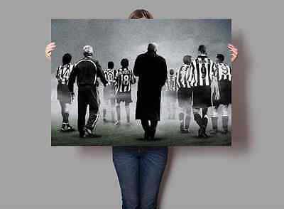 Newcastle United Legends Poster