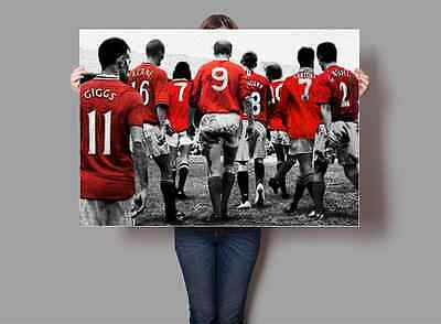 Manchester United Legends Poster