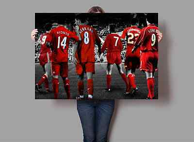Liverpool Football Club Legends Poster