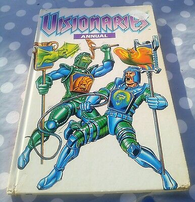1989 Visionaries Annual Marvel UK Exclusive Annual Rare Unclipped